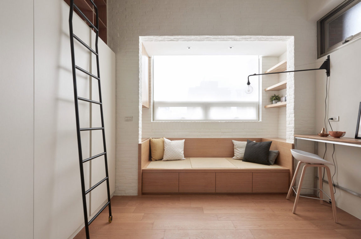 22m2 Apartment in Taiwan by A Little Design (1)