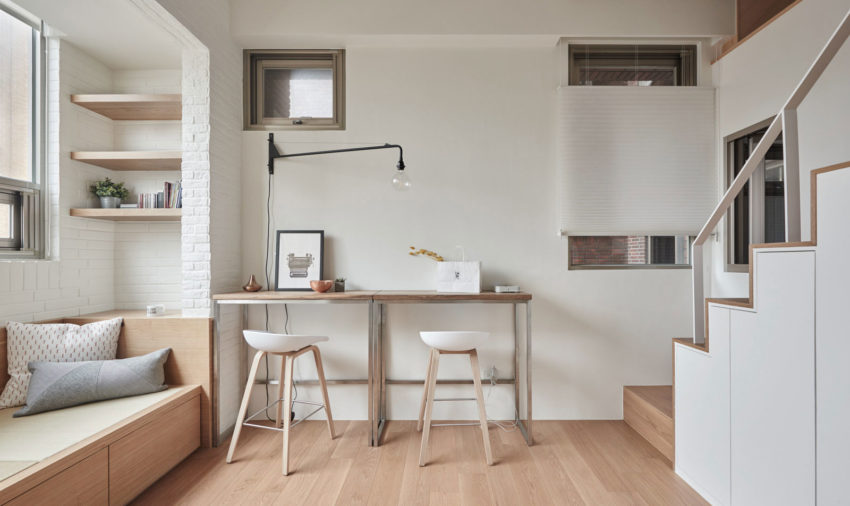 22m2 Apartment in Taiwan by A Little Design (3)