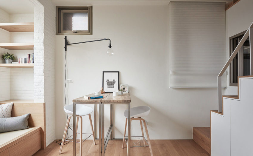 22m2 Apartment in Taiwan by A Little Design (5)