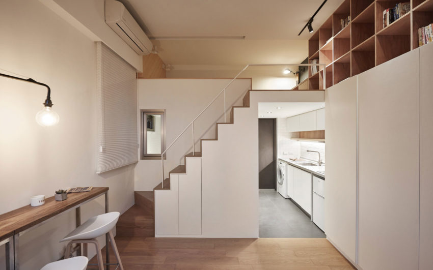 22m2 Apartment in Taiwan by A Little Design (9)