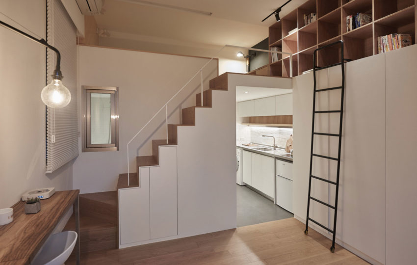 22m2 Apartment in Taiwan by A Little Design (10)
