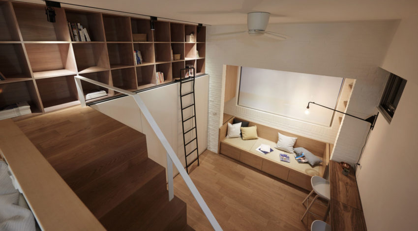 22m2 Apartment in Taiwan by A Little Design (13)