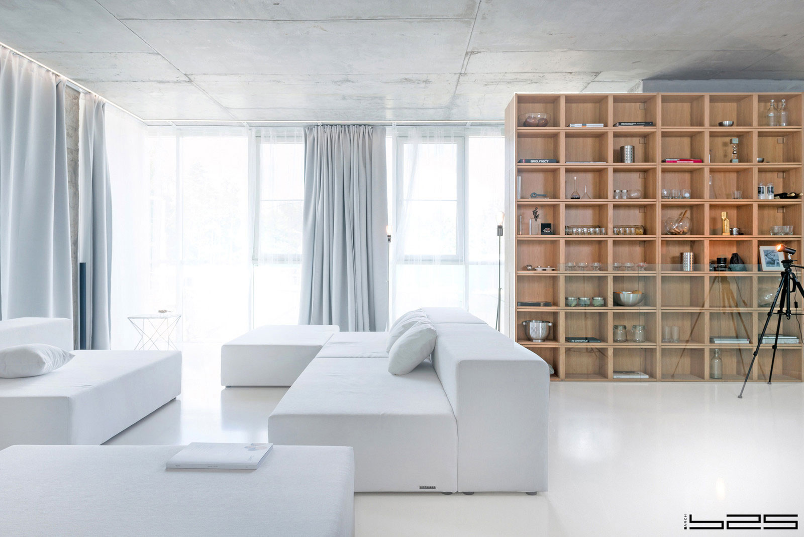 ARCH.625 Design a Minimalist Apartment in Moscow, Russia