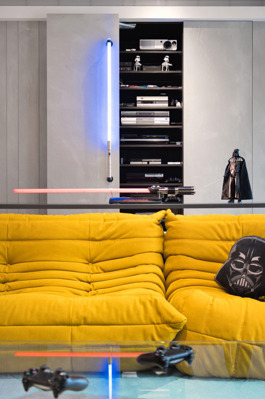 View in gallery force by white interior design 2