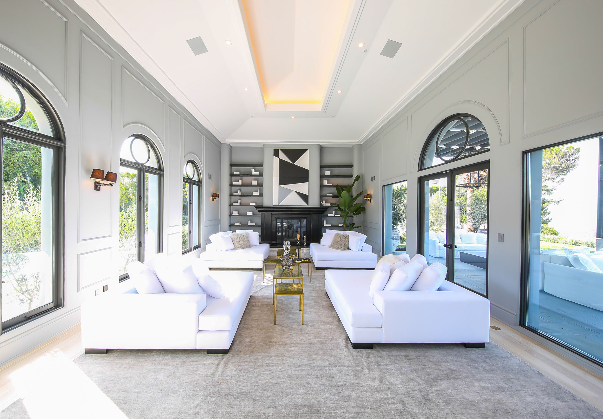 Interior Designers Beverly Hills $35Million French Contemporary Home In Beverly Hills