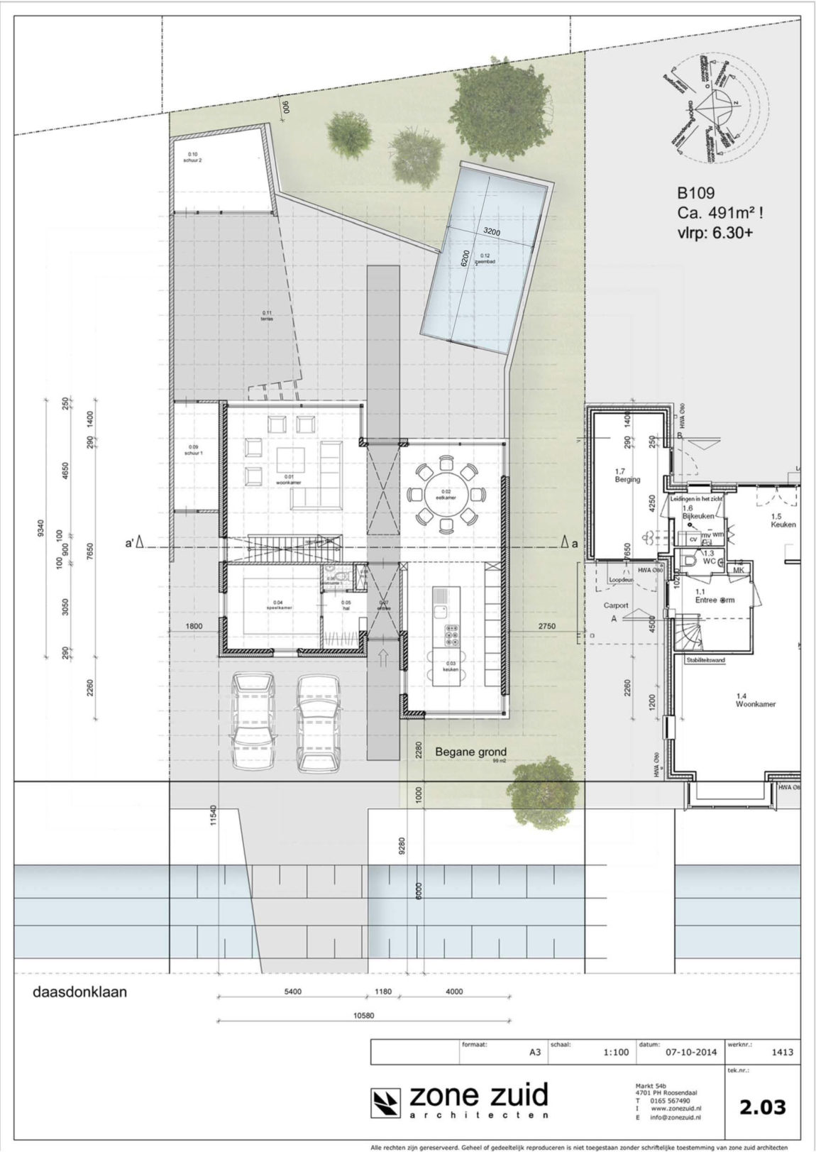 House Daasdonklaan by Zone Zuid Architecten (21)