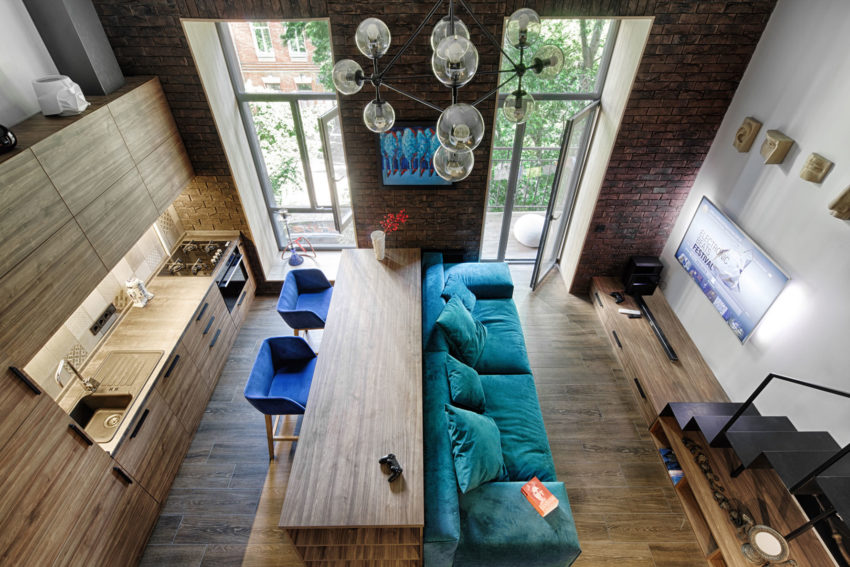 Small Apartment in the Center of Kiev by Ivan Yunakov (1)