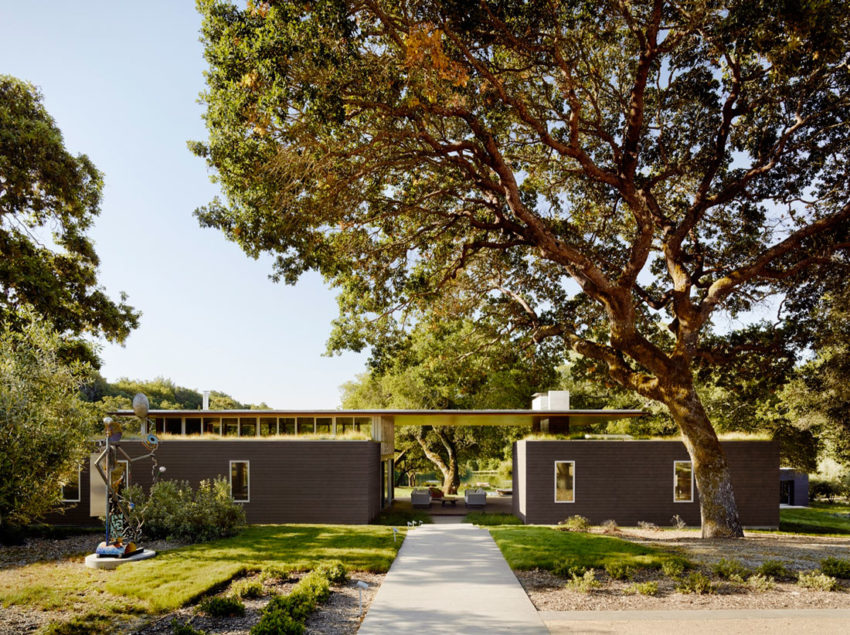 Sonoma Residence by Turnbull Griffin Haesloop Architects (1)