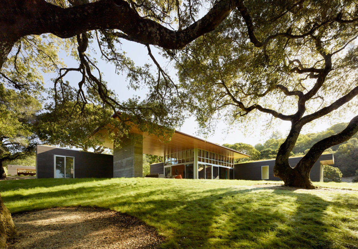 Sonoma Residence by Turnbull Griffin Haesloop Architects (4)