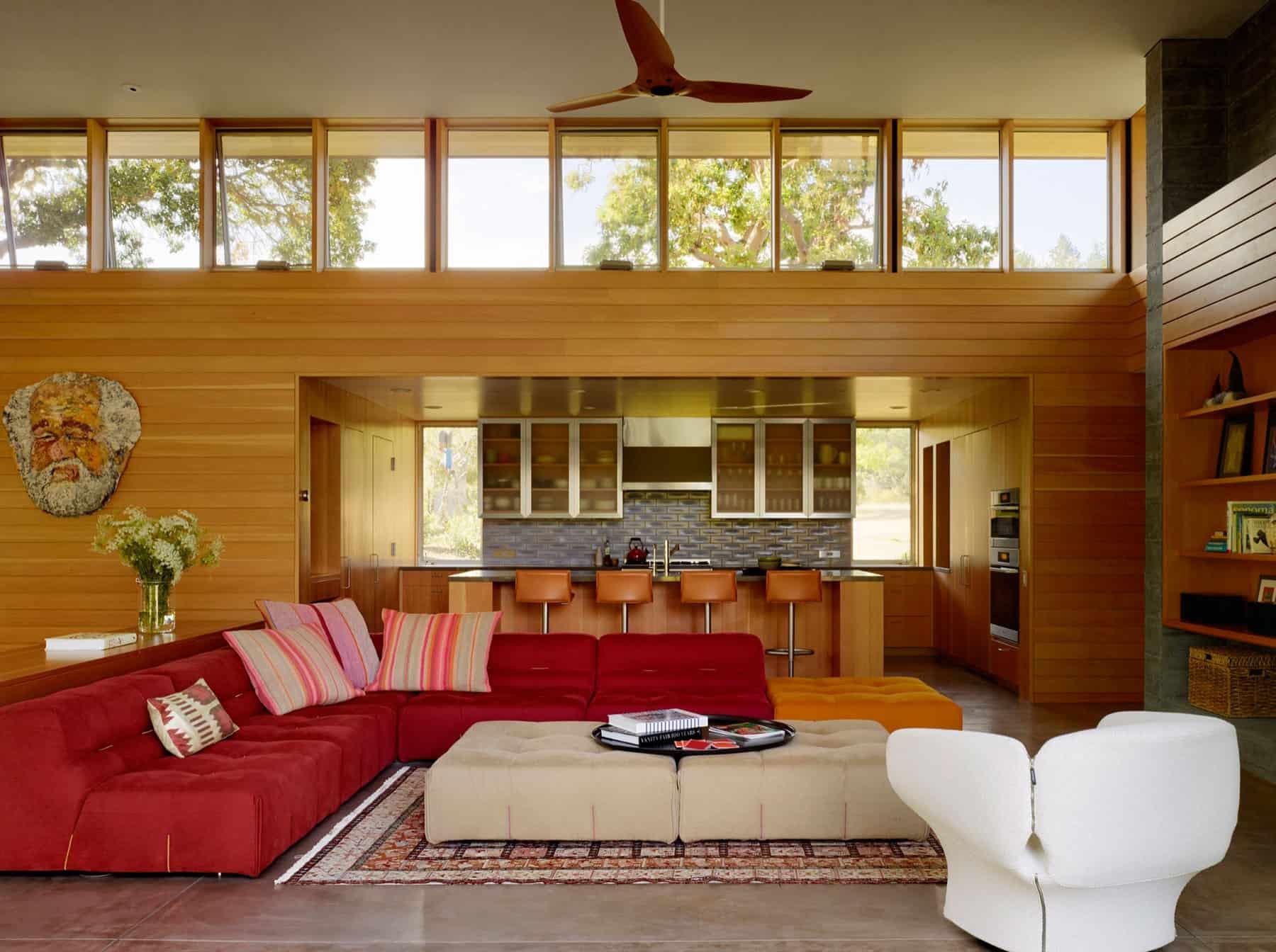 Turnbull Griffin Haesloop Architects Design a Net-Zero Home in Sonoma, California