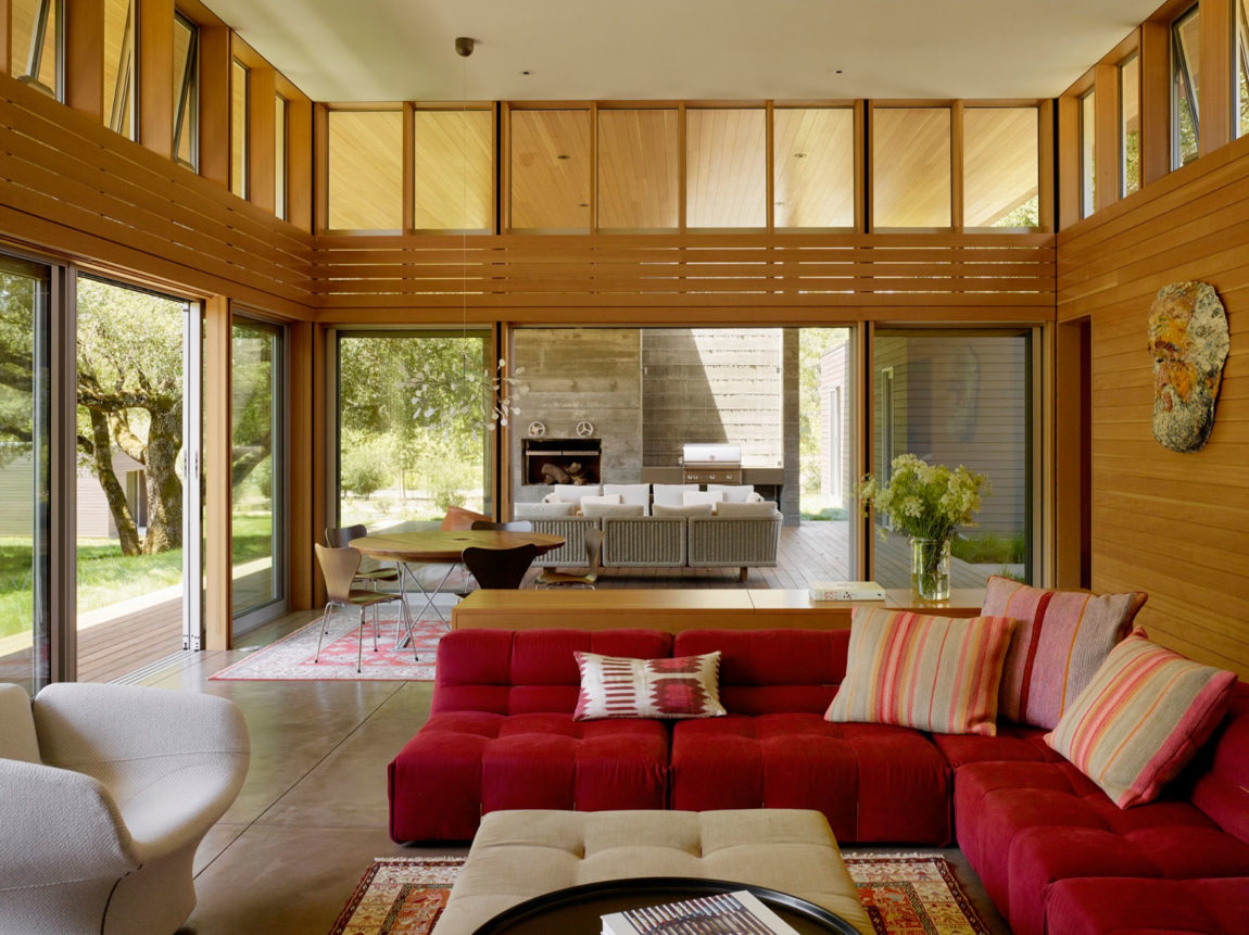 Sonoma Residence by Turnbull Griffin Haesloop Architects (8)