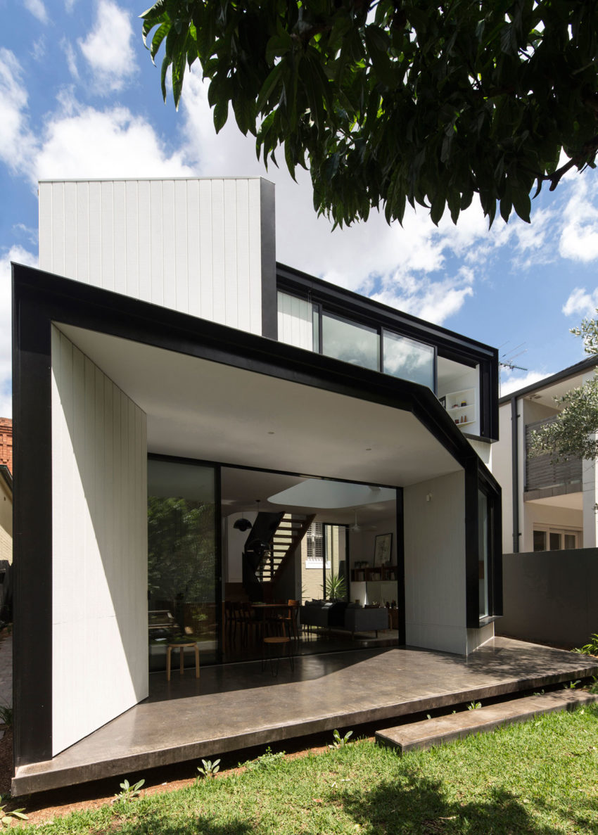 Unfurled House by Christopher Polly Architect (1)