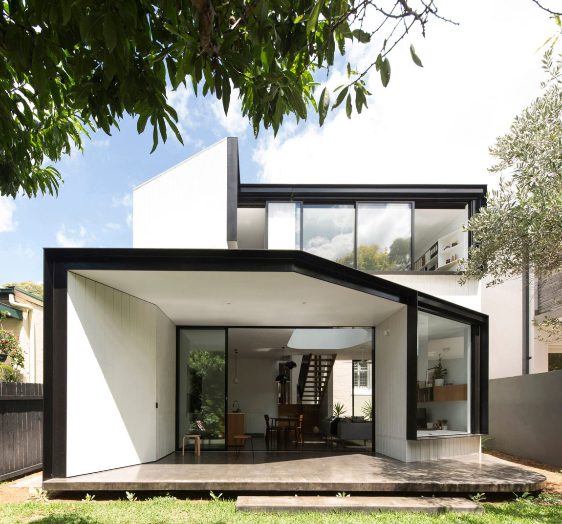 Unfurled House by Christopher Polly Architect (3)