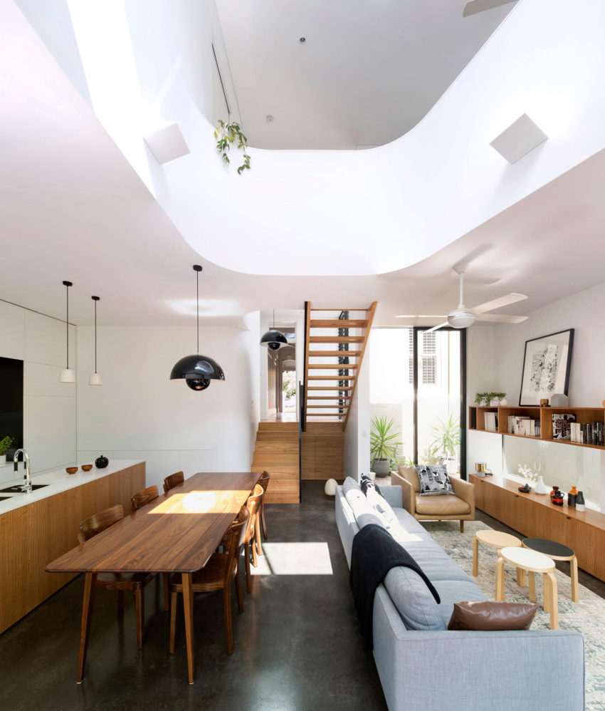 Unfurled House by Christopher Polly Architect (8)