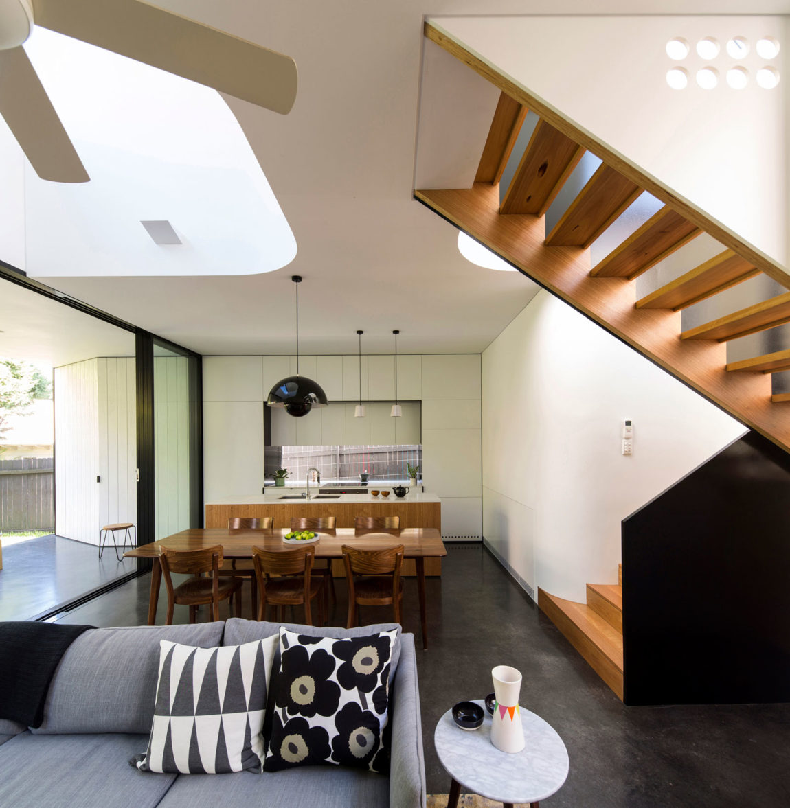 Unfurled House by Christopher Polly Architect (10)