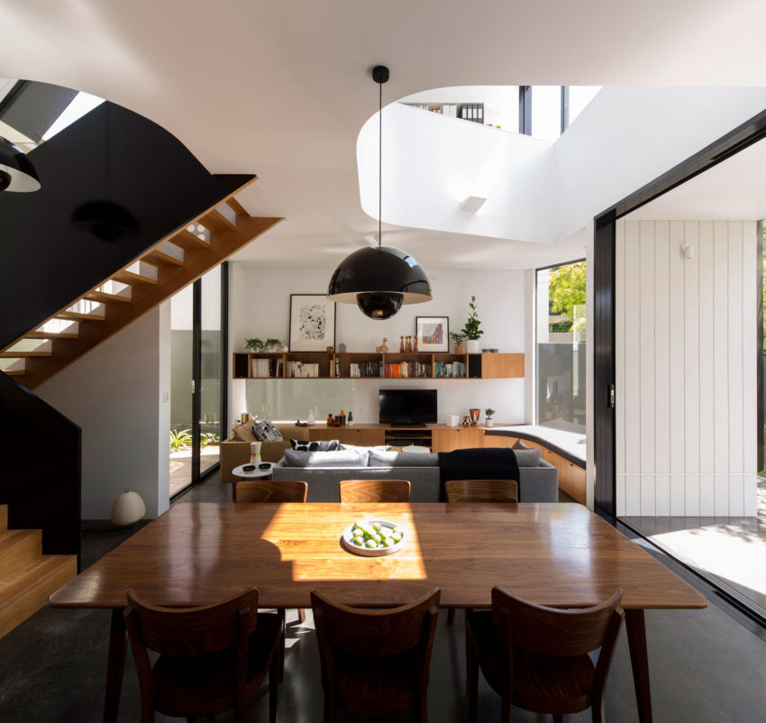 Unfurled House by Christopher Polly Architect (11)