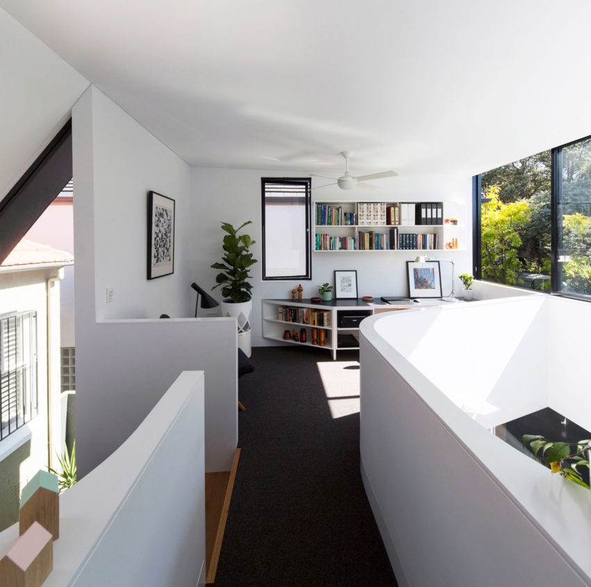 Unfurled House by Christopher Polly Architect (14)