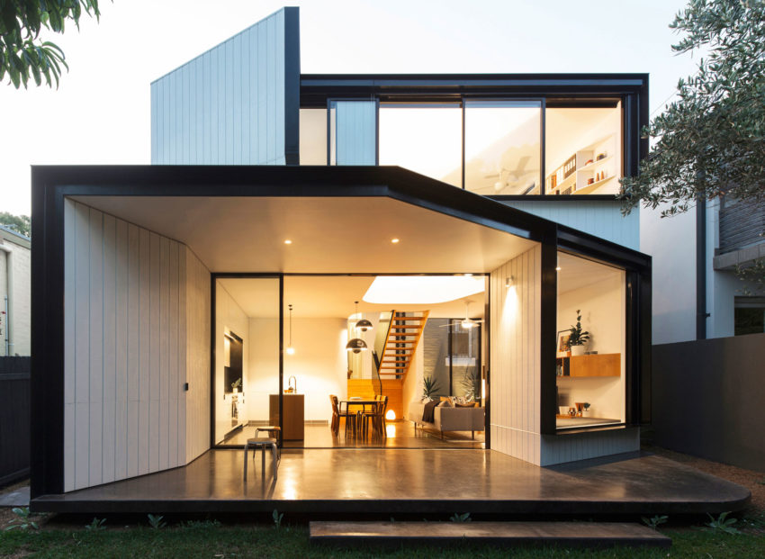 Unfurled House by Christopher Polly Architect (21)