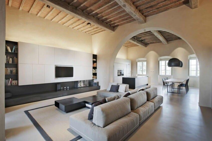 Villa in Monteriggioni by CMTarchitects (7)
