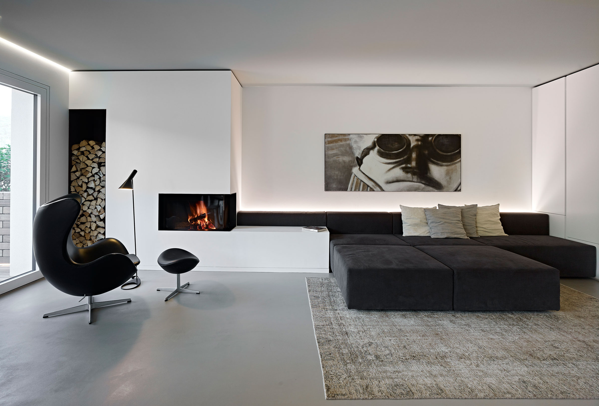 Burnazzi feltrin architetti design a private residence in - Interior design trento ...