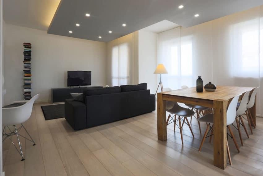 Mamestudio designs a home in tones of white and grey for Casa grigia