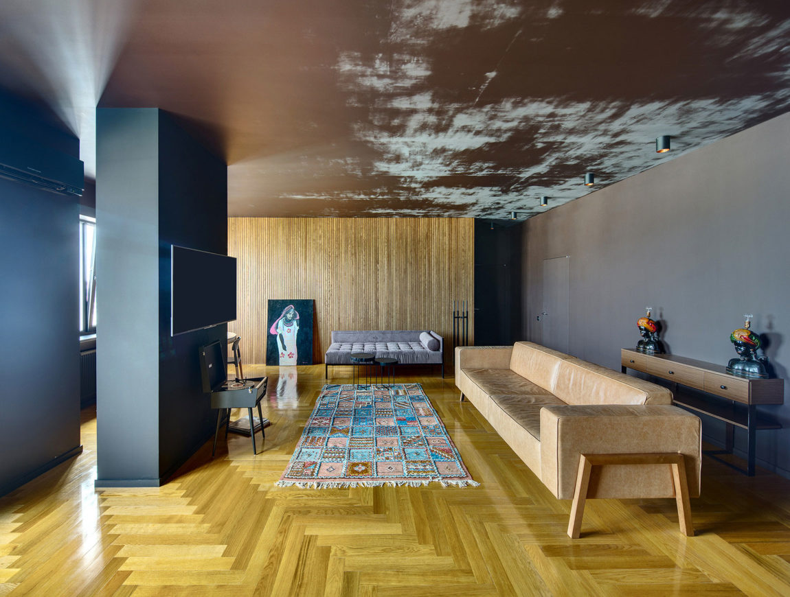 Eclectic Apartment by U Concept (3)