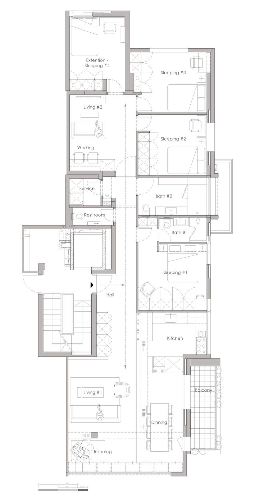 Family Apt. No.4 by RUST Architects (16)