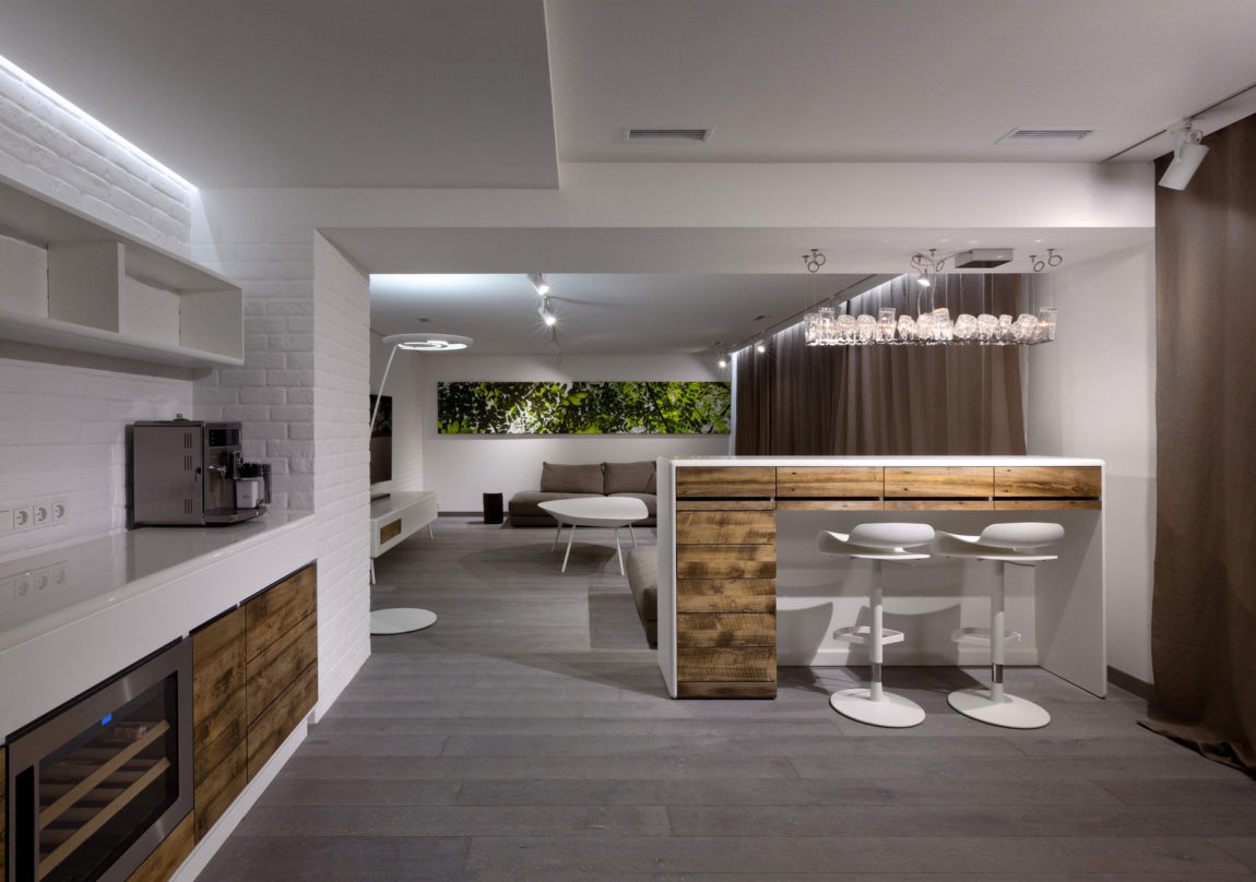 Four-Level Apartment in Kiev by Ryntovt Design (6)