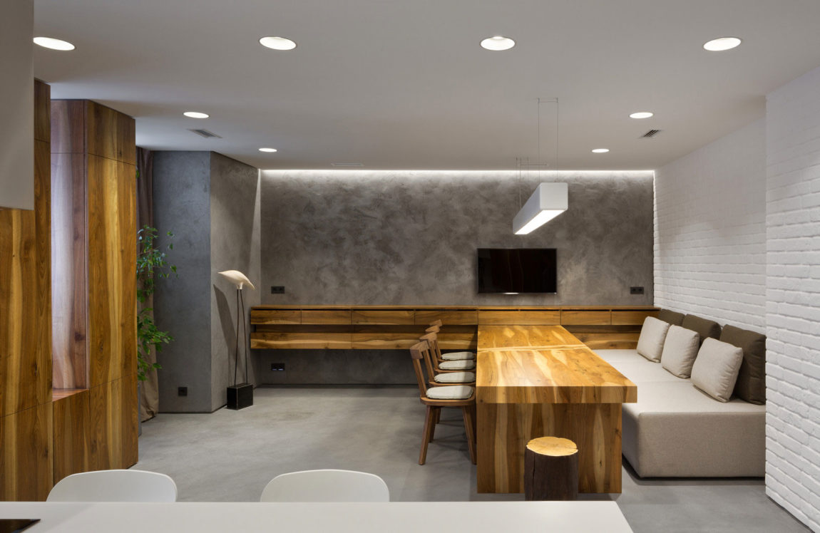 Four-Level Apartment in Kiev by Ryntovt Design (8)