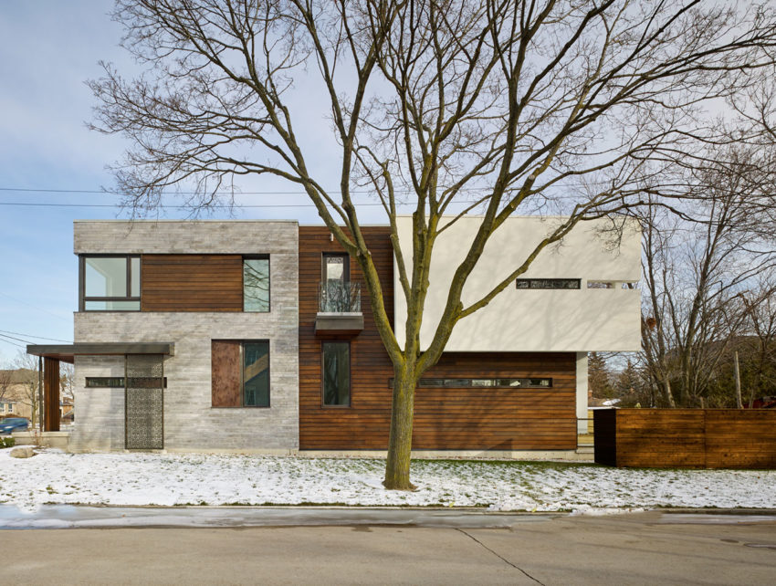 alva roy architects design a single family home in toronto canada