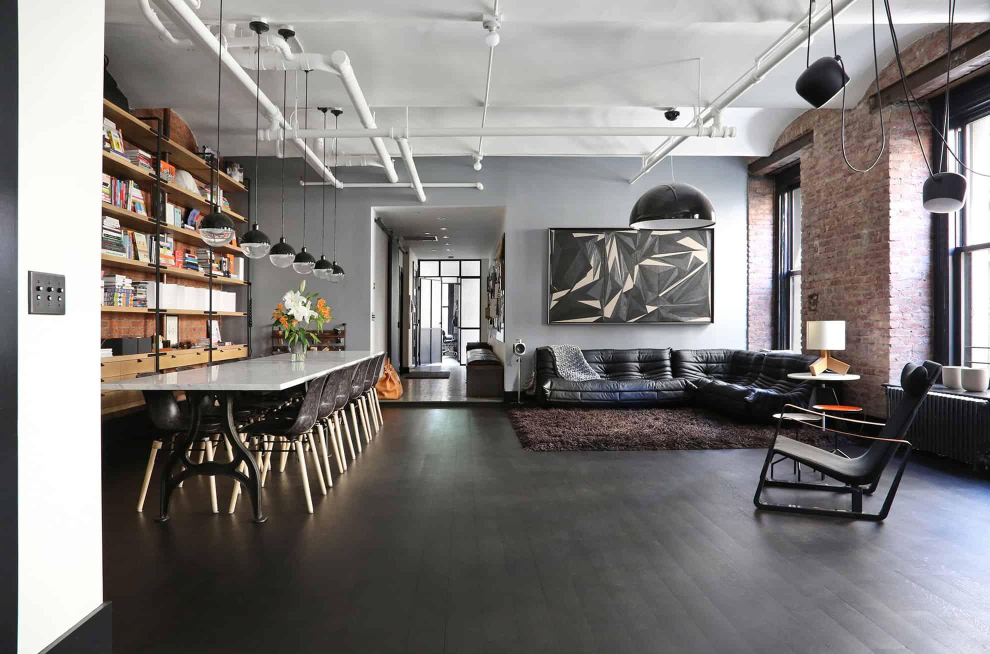 Studio Designs a Loft in a Former NoHo Factory