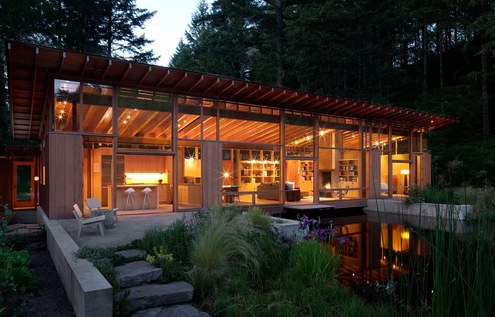 Cutler Anderson Architect Designs a Single-Family Home in Oregon