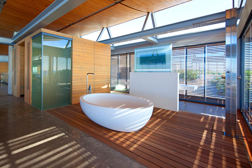 Rooiels Beach House by Elphick Proome Architects (22)