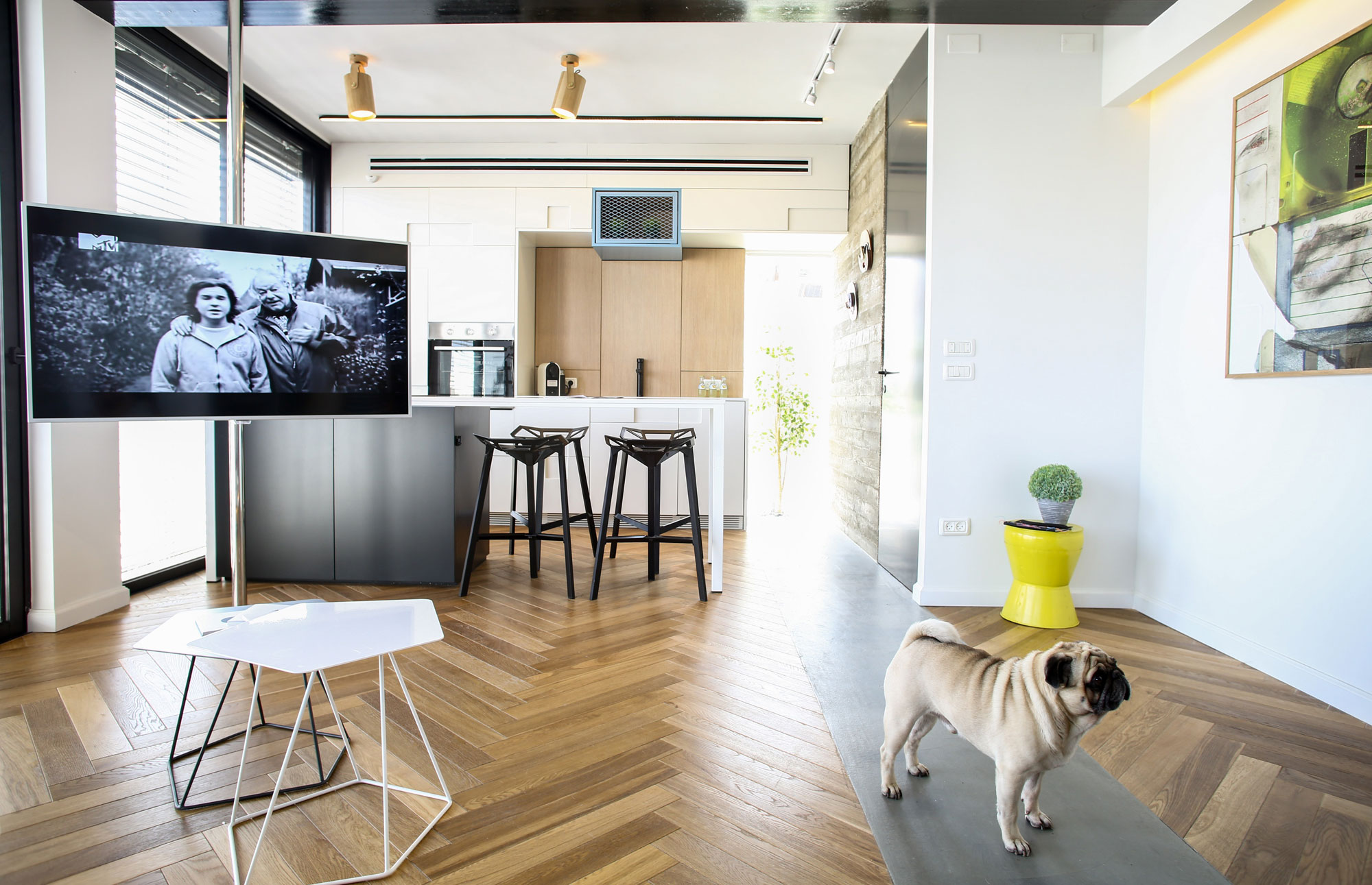 A Contemporary Apartment in Tel Aviv by Dori Interior Design