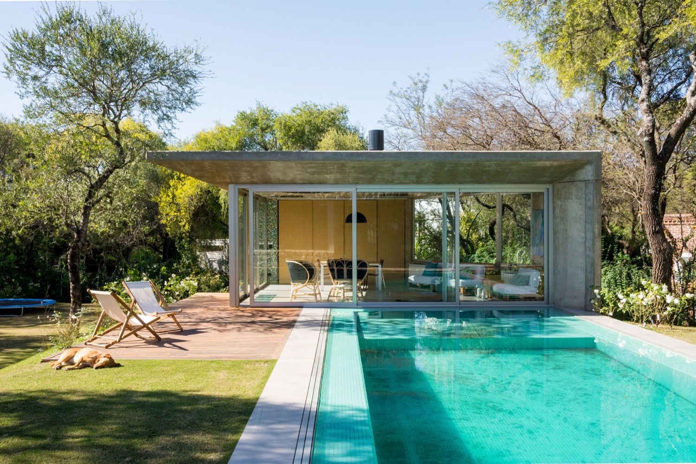 GRUPOURBAN Arq. Designs a Contemporary Home in Sendero del Bosque, Argentina