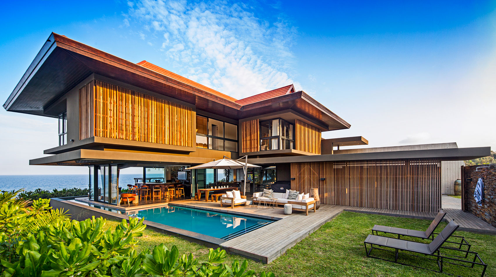 Metropole Architects Design a Contemporary Home on the Dolphin Coast ...