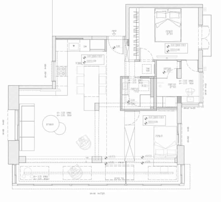 Tlv Gordon 8.2 Apartment by Dori Design (19)