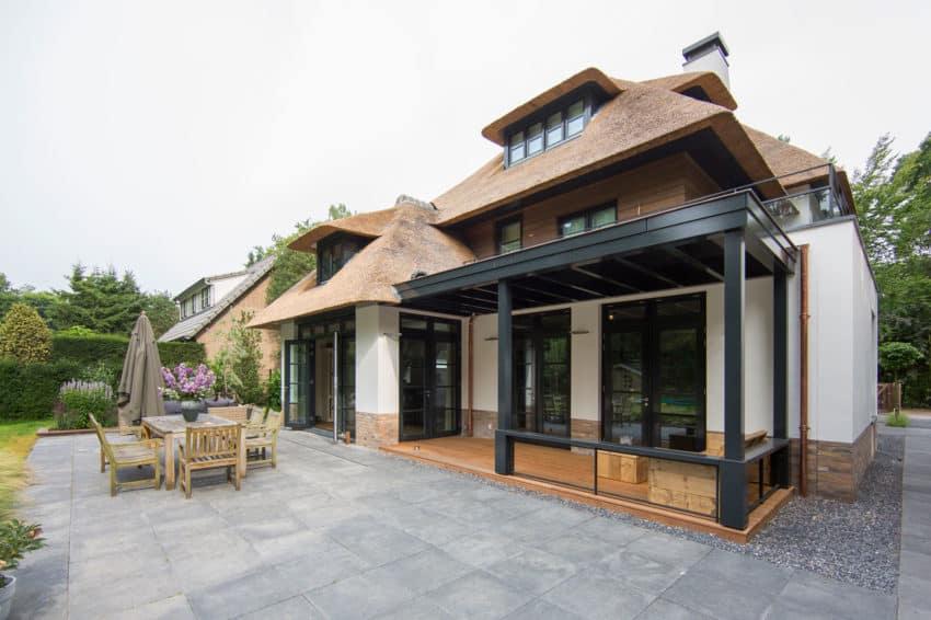 Villa Naarden by DENOLDERVLEUGELS Architects (9)