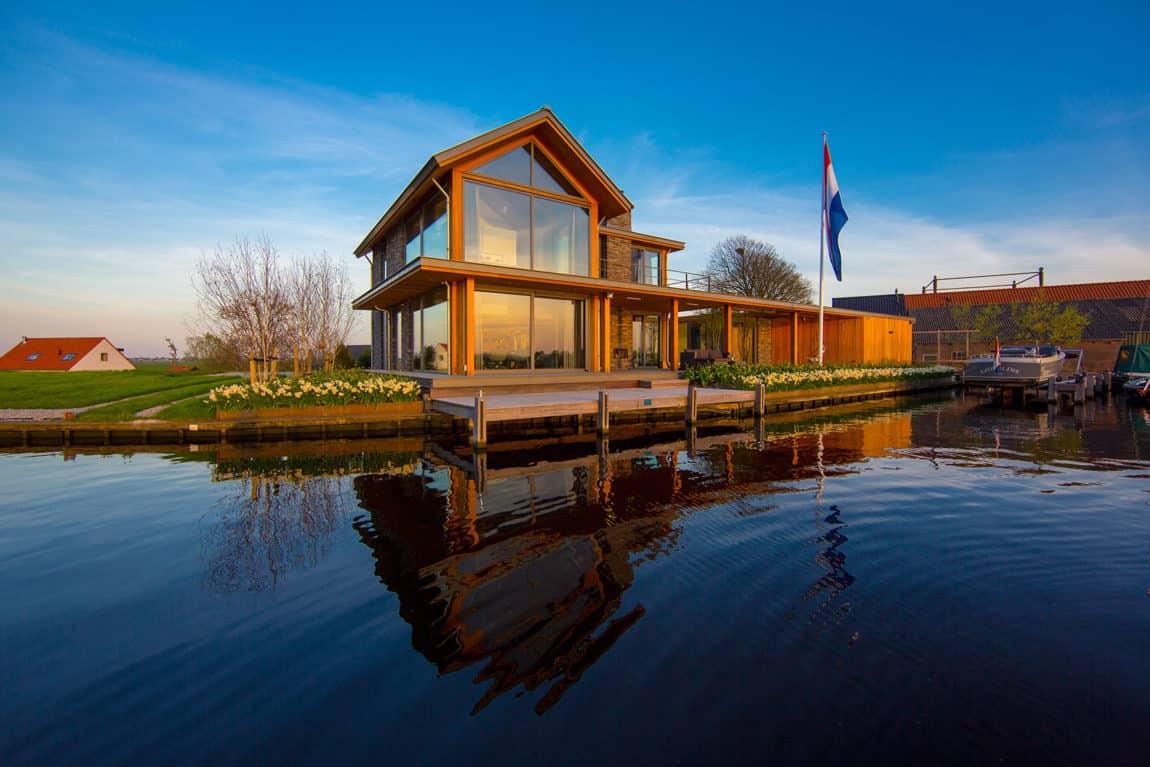 Villa Rijpwetering by DENOLDERVLEUGELS Architects (5)