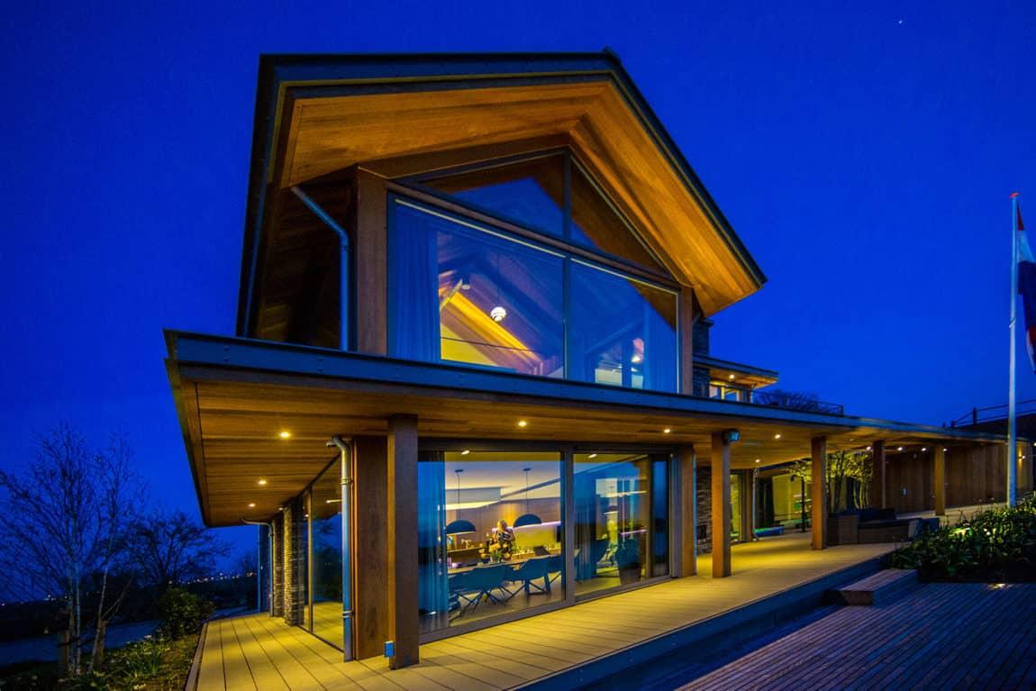 Villa Rijpwetering by DENOLDERVLEUGELS Architects (14)