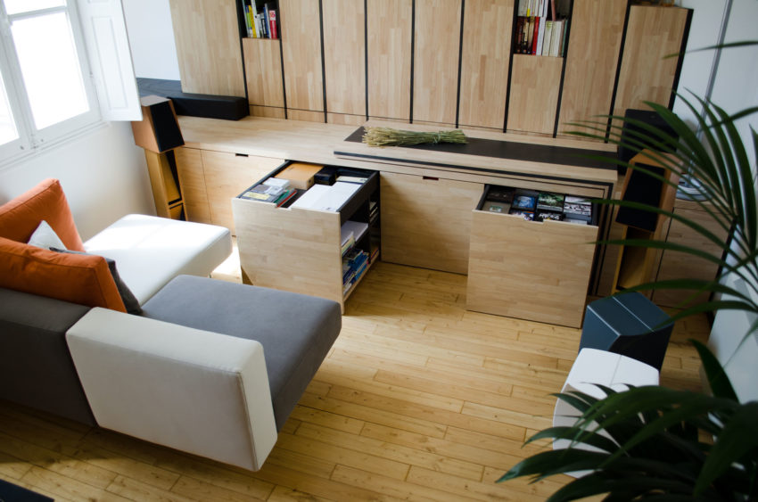 Architecte interieur daphné serrado transforms a former office building into private residences in bordeaux france