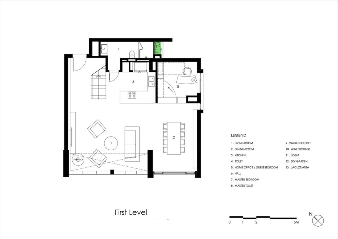 Penthouse Ecopark by ihouse (26)