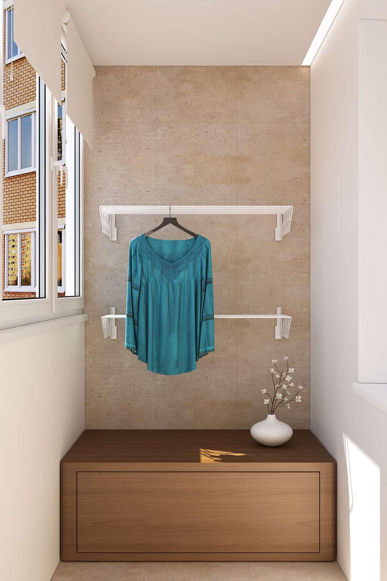 Проект от студии geometrium: дизайн 2-х комнатной квартиры 6.