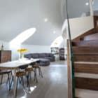 Contemporary Penthouse Apartment by VORBILD architecture (1)