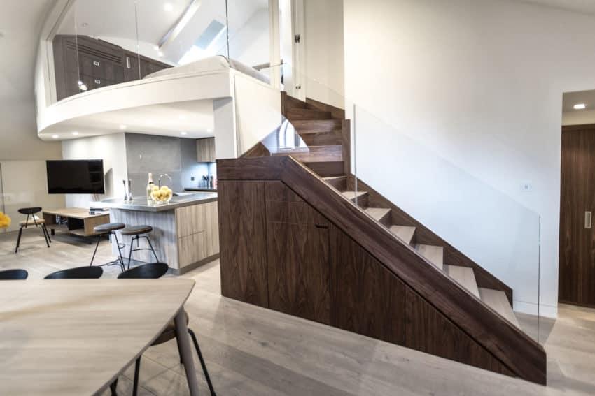 Contemporary Penthouse Apartment by VORBILD architecture (2)