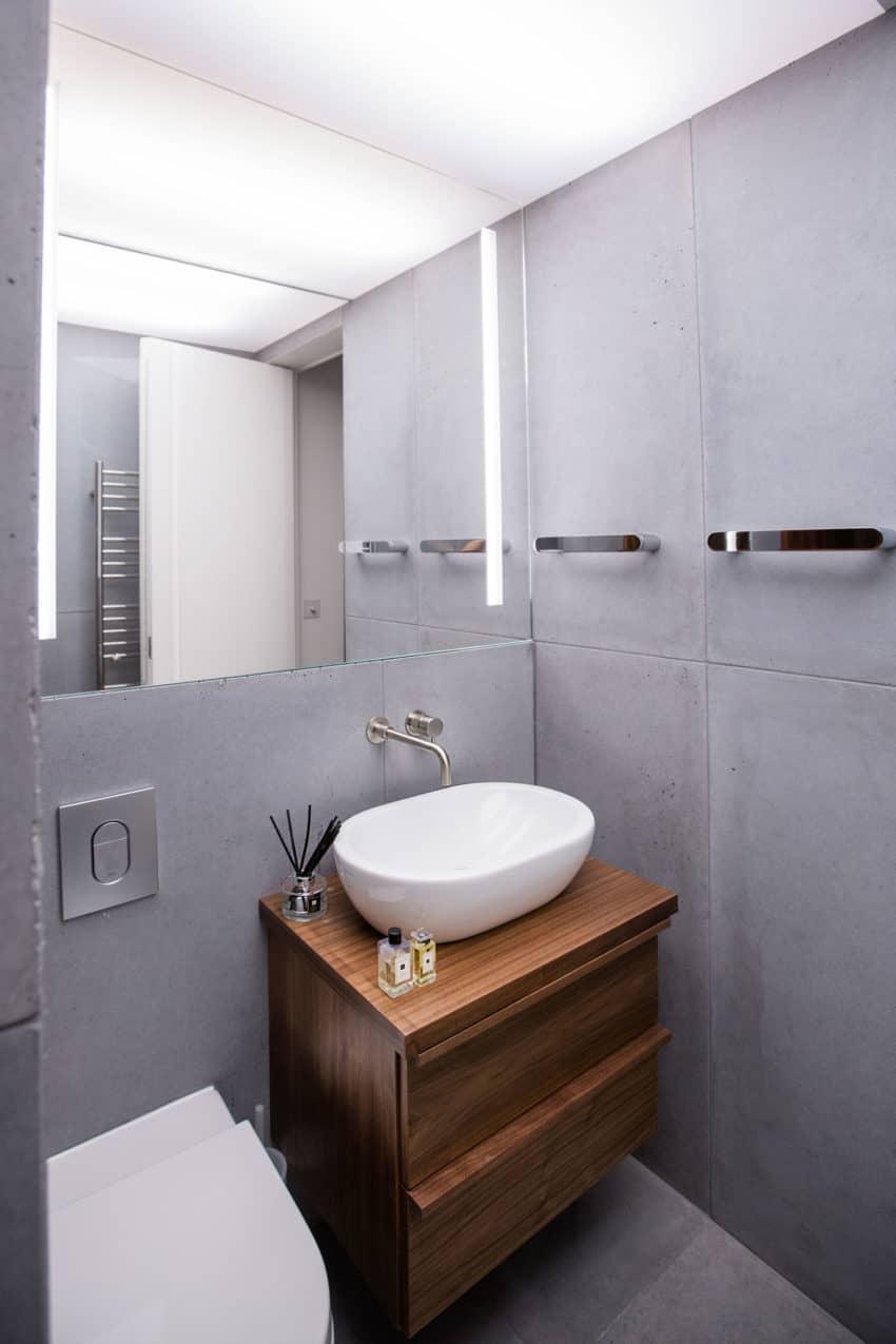 Contemporary Penthouse Apartment by VORBILD architecture (16)