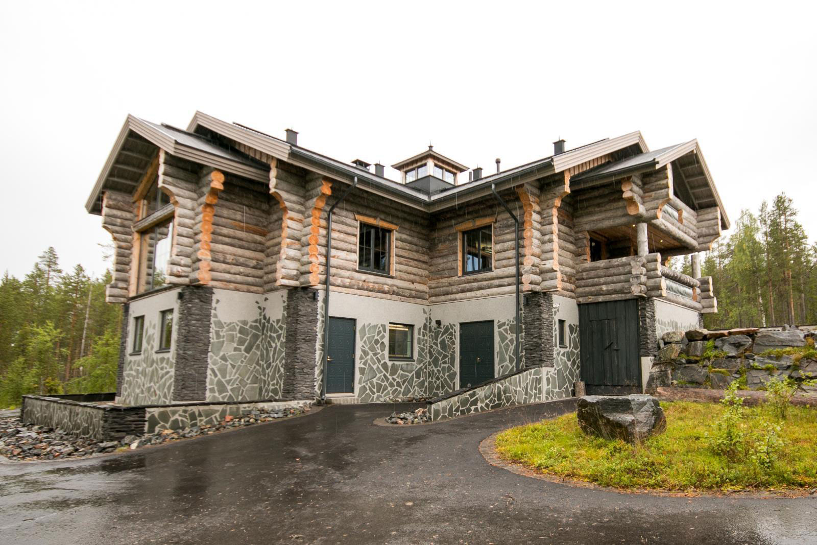 An Exclusive Villa Goes Up for Sale in Lapland, Finland