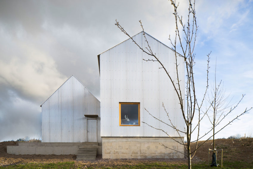 A Home for an Architect's Mother in Linköping, Sweden
