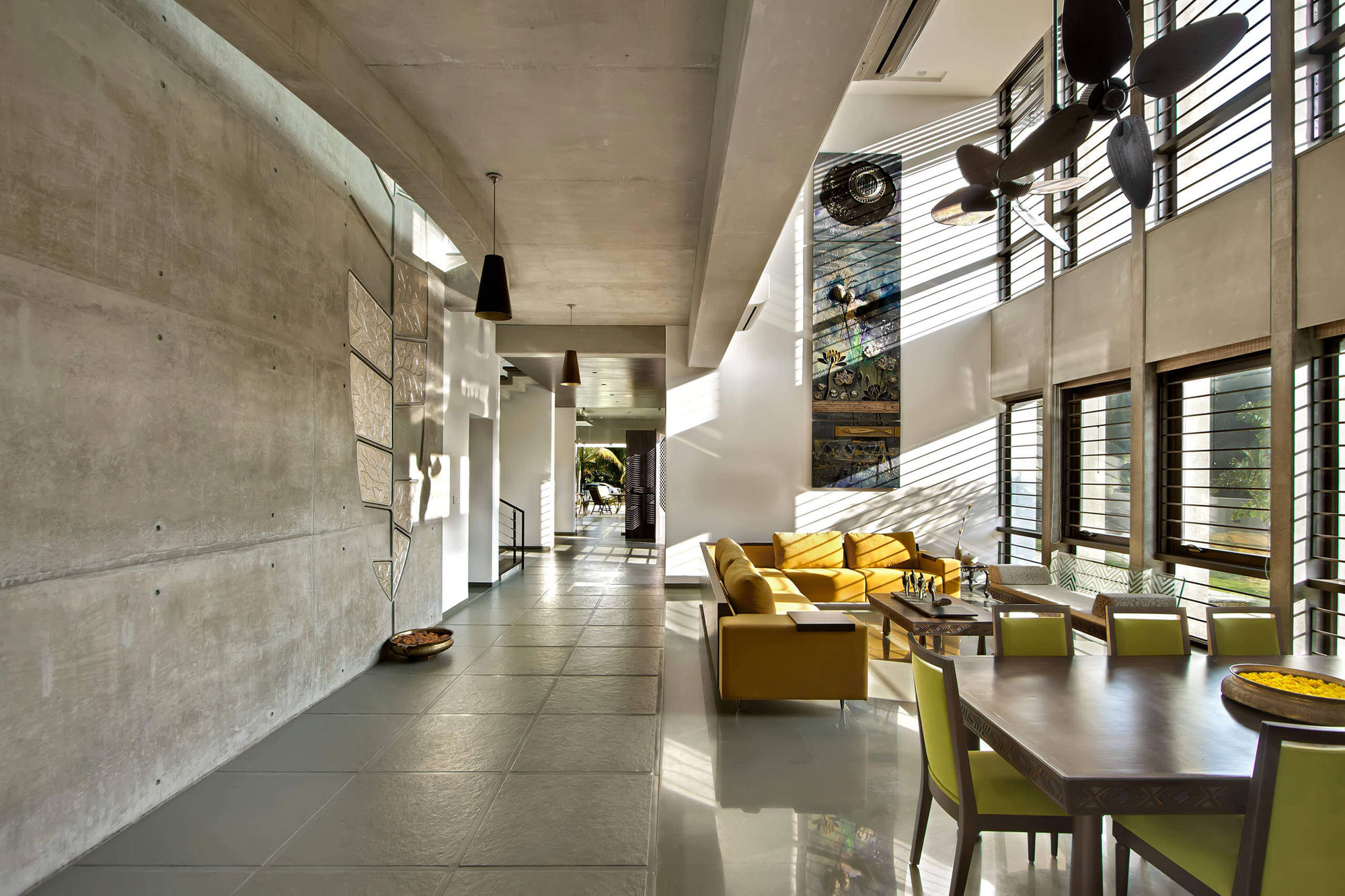 Design By: Dipen Gada & Associates Design A Spacious Contemporary