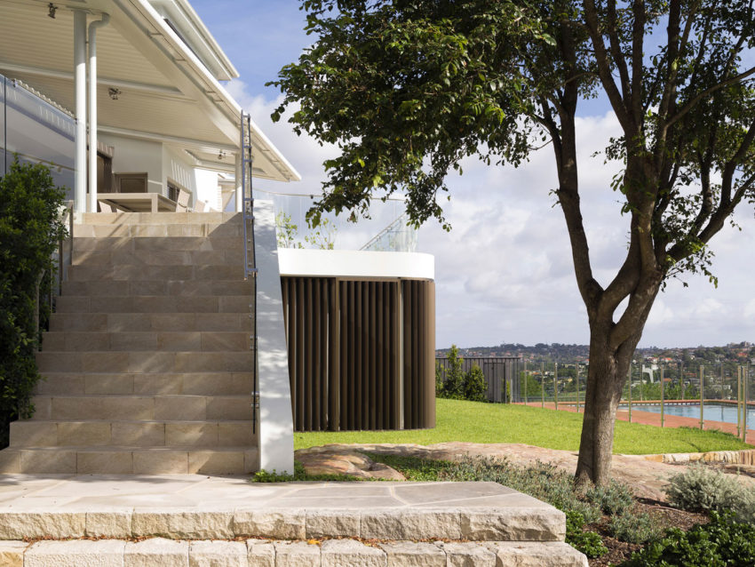 Martello Tower Home by Luigi Rosselli Architects (4)